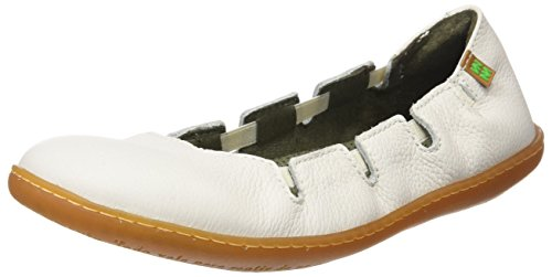 Soft Con Viajero white Scarpe Grain Donna N5272 Piattaforma Bianco Naturalista El ExqCaa