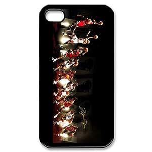 iphone4 4s Black Michael Jordan phone cases&Holiday Gift