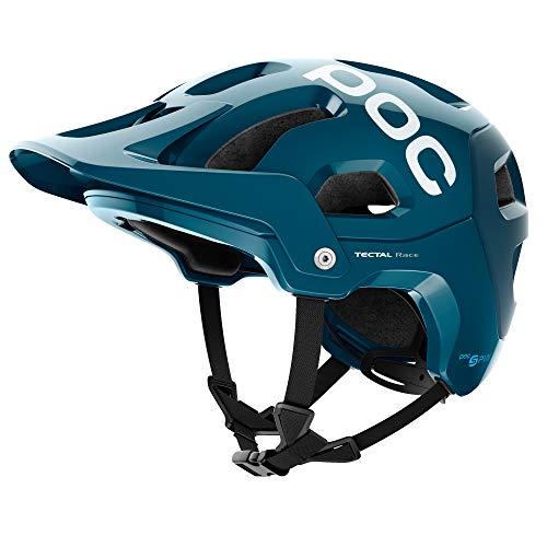 (POC Tectal Race Spin, Helmet for Mountain Biking, Antimony Blue, XSS)