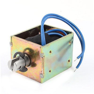Multi 60V 91.5W Power 5mm 1.2Kg Pull Type Spring Plunger DC Solenoid Electromagnet  (color  Multi)