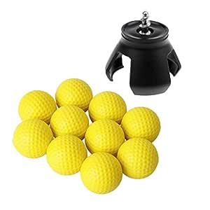 Sharplace 10 Pcs de Pelota de Golf para Entrenador Práctica de ...