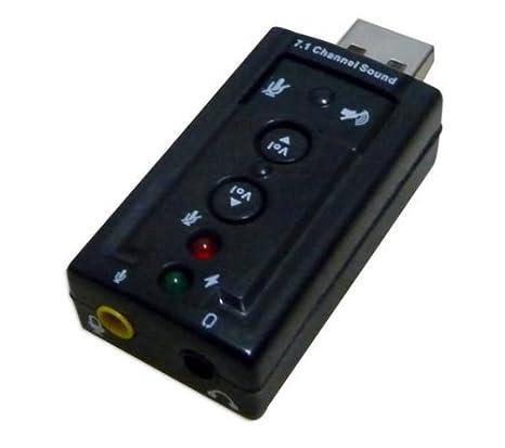 Power Star CS-USB-71 - Tarjeta de Sonido Externa, Color ...