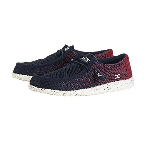 Shoes Red Hey Mesh Navy Dude Navy Gradient Wally RTgwq5rnXg
