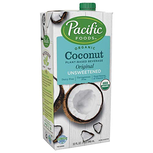 Pacific Foods Organic Coconut Unsweetened Original Plant-Based Beverage, 32oz