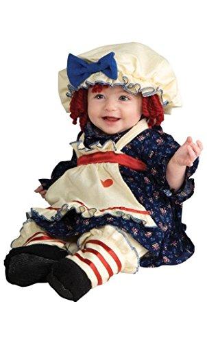 [Ragamuffin Dolly Child Costume Size 2-4 Toddler] (Ragamuffin Costume)