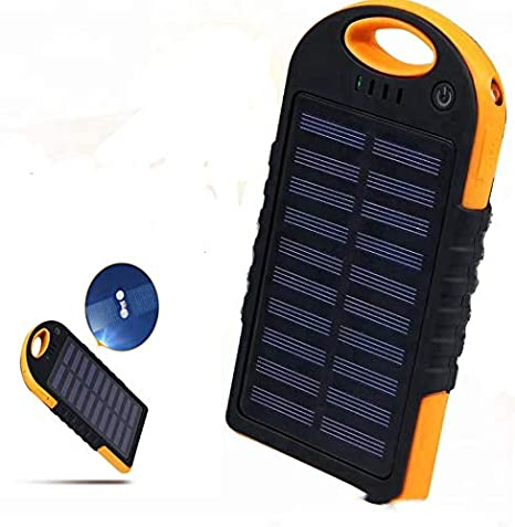 Amazon 2018 QI Cargador inalámbrico Solar Cargador Power ...