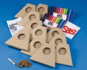 Make-A-MandoHarp Craft Kit (Marker Ss Band)