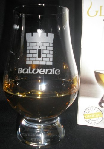 OFFICIAL GLENCAIRN BALVENIE CASTLE SINGLE MALT SCOTCH WHISKY TASTING GLASS ()