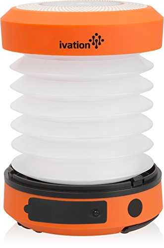 Ivation Collapsible Rainproof Flashlight Emergency