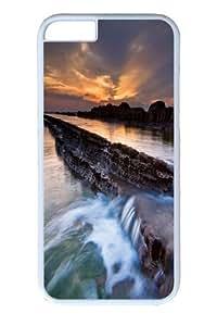 iPhone 6 plus Case, Taiwan sunrise PC Hard Plastic Case for iphone 6 plus 5.5 inch Whtie