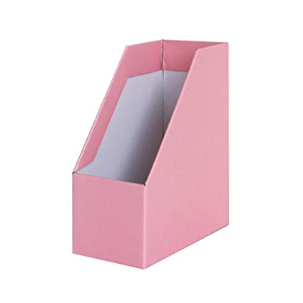Archivador de archivos QIQIDEDIAN Storage Box File Information Desktop File Desk Folder Book Shelf Book (