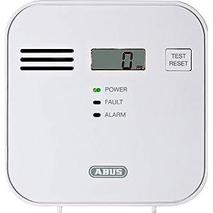 ABUS Kohlenmonoxid-Warnmelder COWM300 CO-Melder | LCD-Display inkl. CO-Konzentration | 7 Jahre Sensor | Prüftaste | bis…