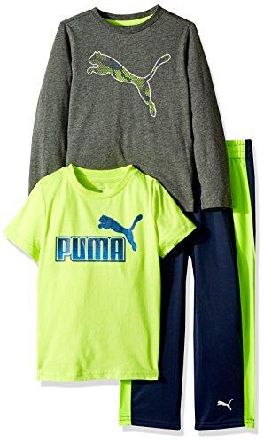 PUMA Boys Three Piece T-Shirt and Pant Set