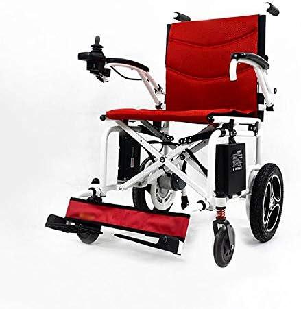 実用的 6AHリチウムイオンバッテリーと電動車椅子電動車椅子障害者車椅子高齢電動車いす大型ホイールの軽量折りたたみ携帯用電動車椅子だけ44Lb、 福祉