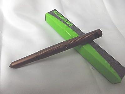 Schrade SCPEN6BR Survival Tactical Pen, Brown