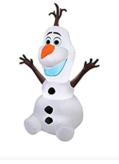 airblown 55 ft disney frozen olaf christmas inflatable light up yard decor - Disney Christmas Yard Decorations
