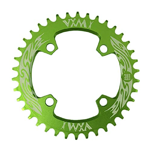 - MG554zy0 96BCD 32T/34T/36T/38T MTB Mountain Bicycle Round Chainrings Crankset Chainwheel Green 34T