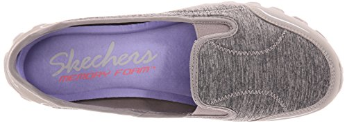 Skechers Easy Flex 2 - Bailarinas para mujer marr¢n claro (taupe)