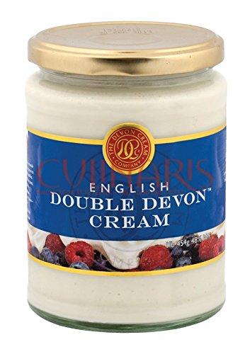 English Double Devon Cream 1lb English Clotted Cream