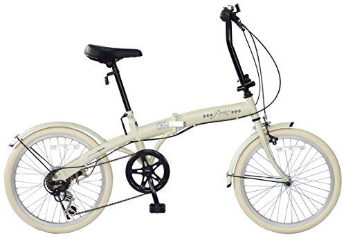 [해외] CHACLE(차쿠루) Prier(프리에) 가벼워 펑크 하지 않는 폴딩 오토바이 20인치 외장6 단변속 사양 노 펑크 퍼터이어 공기 만들어 넣음(담는 그릇·상자 등) 불요 접는 자전거 FDR-CC206PR