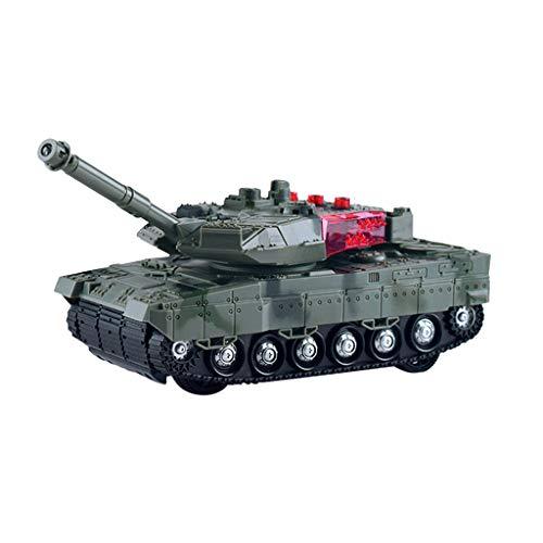 perfk 陸軍タンクおもちゃ 戦闘タンク RC車 リモート 電子車 おもちゃ