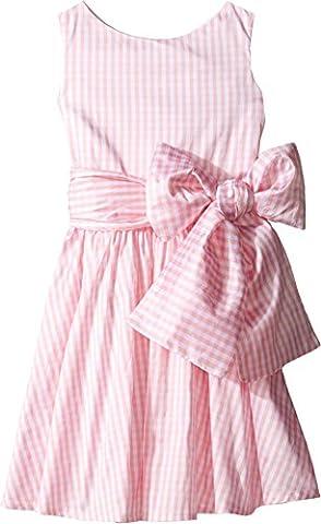 fiveloaves twofish Baby Girl's Lola Gingham Dress (Toddler/Little Kids/Big Kids) Pink Gingham Dress