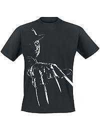Nightmare On Elm Street T Shirt Freddy Krueger new Official Mens Black