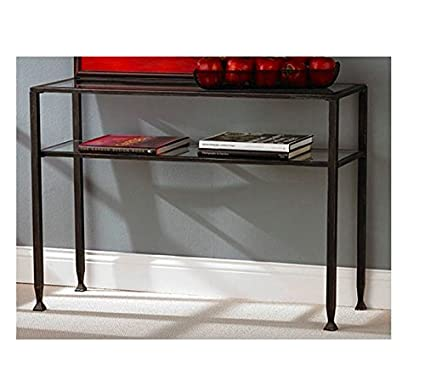 Amazon.com: Modern Black Console Table - This Small Table Is Prefect ...