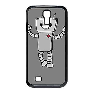 Samsung Galaxy S4 9500 Cell Phone Case Black_ROBOT LOVE Pordt