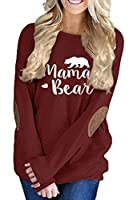 Pink Queen Womens Loose Crew Neck Batwing Sleeve Patches Blouse Top T-Shirts