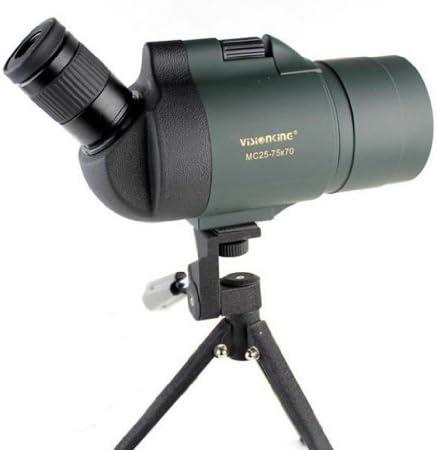 Visionking 25-75×70 Maksutov Spotting Scope 100 Waterproof Bak4 with Tripod Green