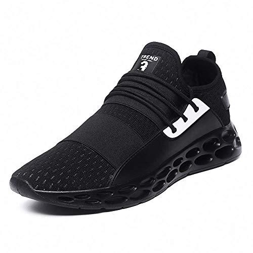 Rotok Mens Running Shoes Lightweight Shock Absorber Sneakers Outdoor  Walking Sport Shoes (9.5 US Men 1e7407fd9