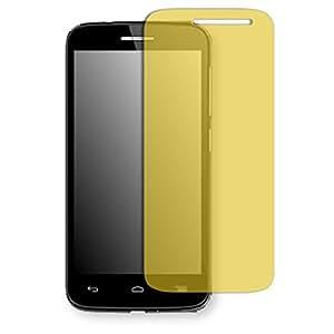 Lámina de protección Golebo amarillo contra miradas laterales para Alcatel OneTouch Pop 2 4.5 Zoll - PREMIUM QUALITY
