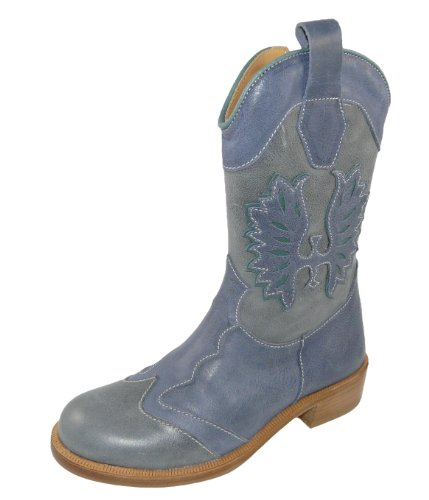 Stivali hellblau Zecchino grau Donna Blu D'oro pWqzaq1