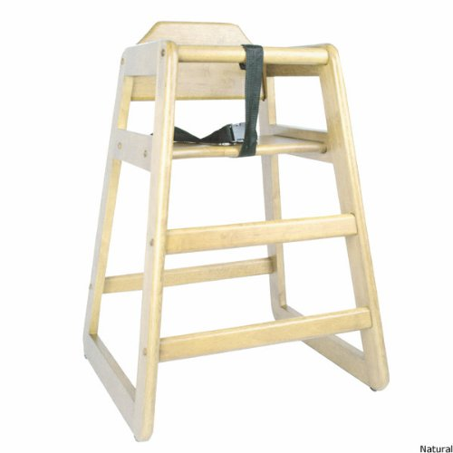 Children's Commercial Wooden High Chair