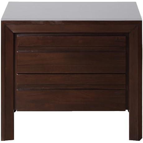 Modus Furniture 4G2281 Element Nightstand Chocolate Brown