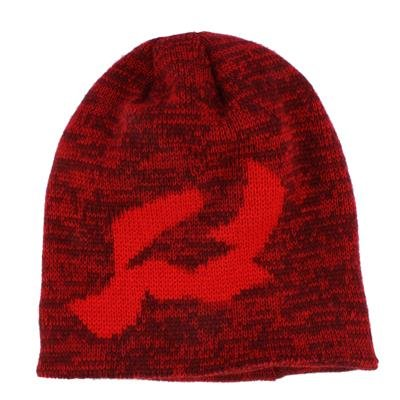 (Ride R Logo Beanie, Red, One Size)