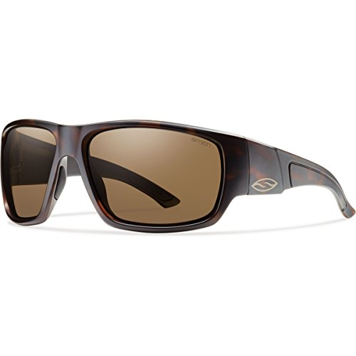 Smith Optics Dragstrip Sunglass with Brown Carbonic TLT Lenses, Matte ()