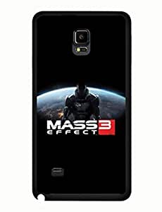 Mass Effect Graphic Classic Theme Game Samsung Galaxy Note 4 Hard Plastic Case yiuning's case