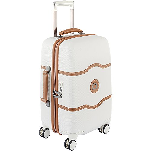 DELSEY Luggage Chatelet Hard+ 21 inch Carry on 4 Wheel Sp...