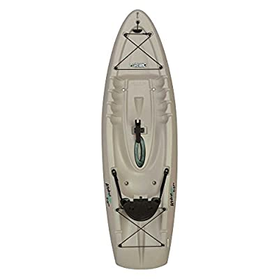 "90610 Lifetime Hydros Angler Kayak with Paddle, Sandstone, 101"" by Lifetime OUTDOORS"