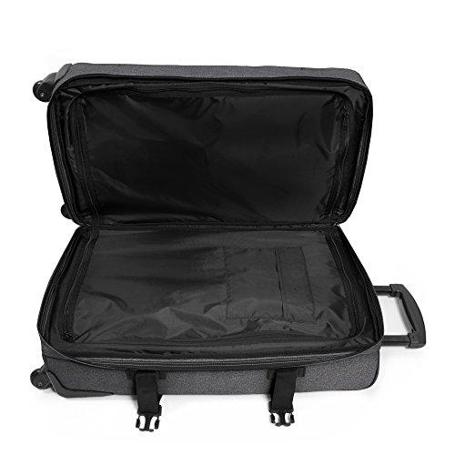 Eastpak Trans4 M Koffer, 80 cm, 68 L, Double Denim (Vorgängermodell) Black Denim
