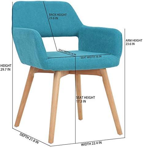 home, kitchen,  furniture 10 image Five Stars Furniture Modern Design Fabric Accent Chair in USA