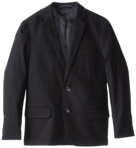 Calvin Klein Big Boys' Bi-Stretch Jacket, Navy, 12 ()