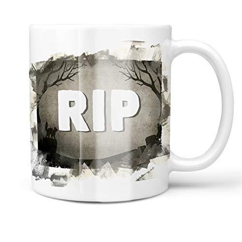 Neonblond 11oz Coffee Mug RIP Halloween Graveyard with