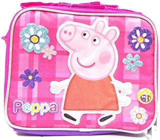 New Peppa Pig Allover Flower Lunch Bag by AI