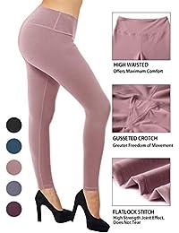 Women Buttery Soft Yoga Waist Solid Leggings