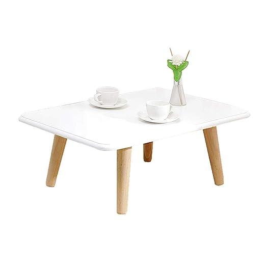 Mesa pequeña de café, multifunción hogar Mesa de Madera Maciza ...