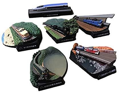 京都鉄道博物館 フィギュアコレクション 全6種セット B07P7GZNS5