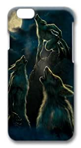 3 Werewolf Moon Polycarbonate Hard Case Cover for iphone 6 plus 5.5 inch 3D